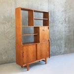 Mid Century Freestanding Wall Unit With Illuminated Cupboard From Stonehill