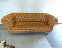 Vintage Chesterfield Style Sofa for sale at Pamono