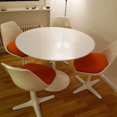 Tulip Table And Chairs The Chair Fic Vintage 4 By Maurice Burke For Arkana