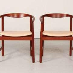 Pp Chair Company Painted High Chairs Danish 203 By Hans J Wegner For Møbler 1980s