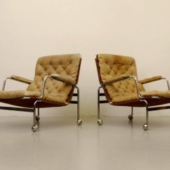Dux Sofa Uk Fix A Bed Karin Easy Chairs By Bruno Mathsson For 1960s Set Of