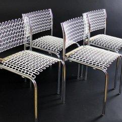 David Rowland Metal Chair Fishing Uk Sof Tech Side By For Thonet 1979