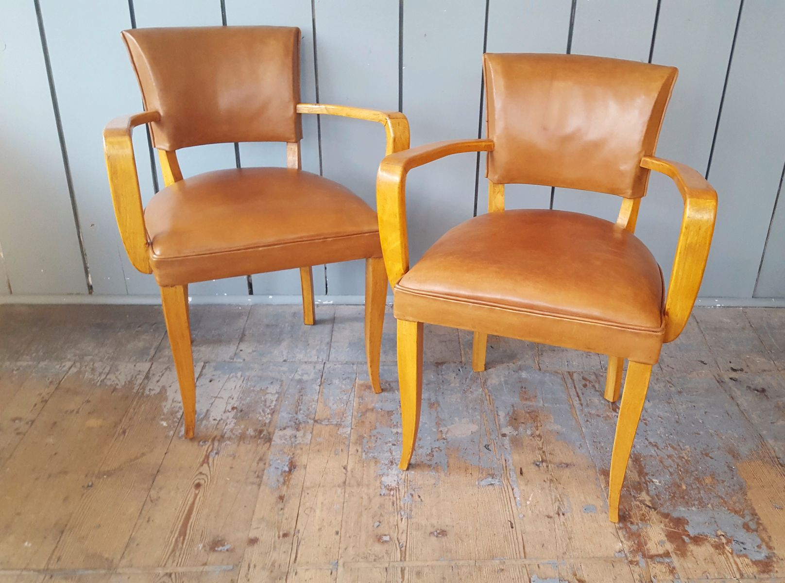 tan leather chair sale inflatable target vintage desk chairs set of 2 for at pamono