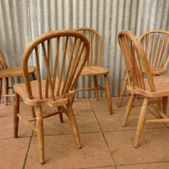 Windsor Back Chairs For Sale Used Table And Vintage Bow Set Of 5 At Pamono