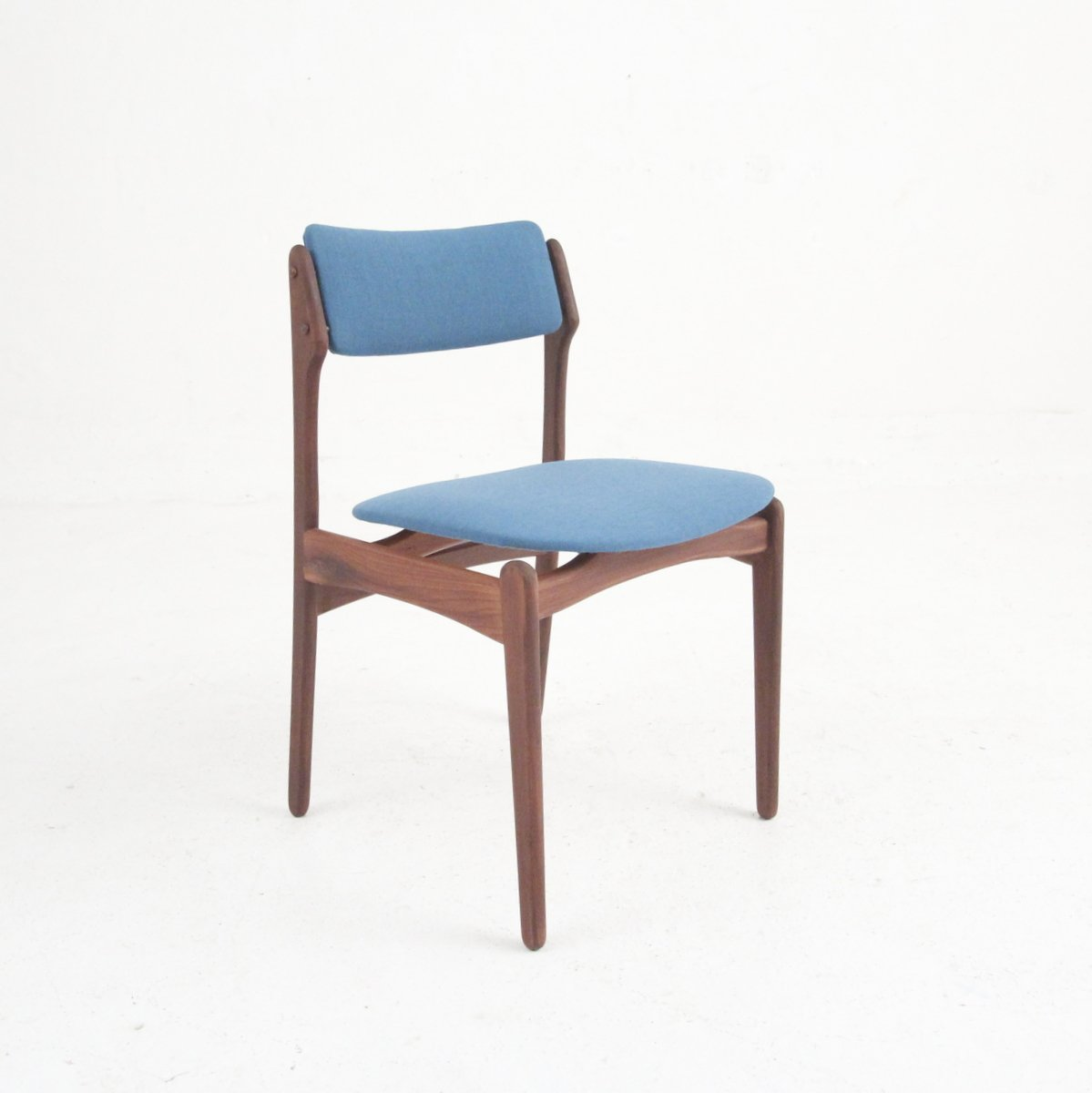 danish modern dining chair card table and chairs set vintage in rosewood of 4