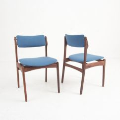 Danish Modern Dining Chairs Chair Covers North Cheam Vintage In Rosewood Set Of 4
