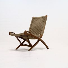 Folding Z Chair Gaming Ottoman Rope By Ebert Wels 1960s For Sale At Pamono