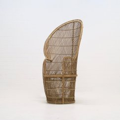 Large Wicker Chair Lifetime Stacking Chairs 2830 Peacock 1970s For Sale At Pamono