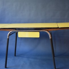 1950 S Yellow Formica Table And Chairs Infant Sit Up Dining 1950s For Sale At Pamono