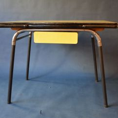 1950 S Yellow Formica Table And Chairs 2 Dining 1950s For Sale At Pamono