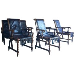 Set Of Six Dining Chairs For Sale Easy Chair Covers Diy Vintage 6 At Pamono