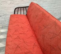 Vintage German Red Sofa Bed, 1958 for sale at Pamono