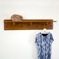 Danish Teak Coat Rack, 1960s for sale at Pamono