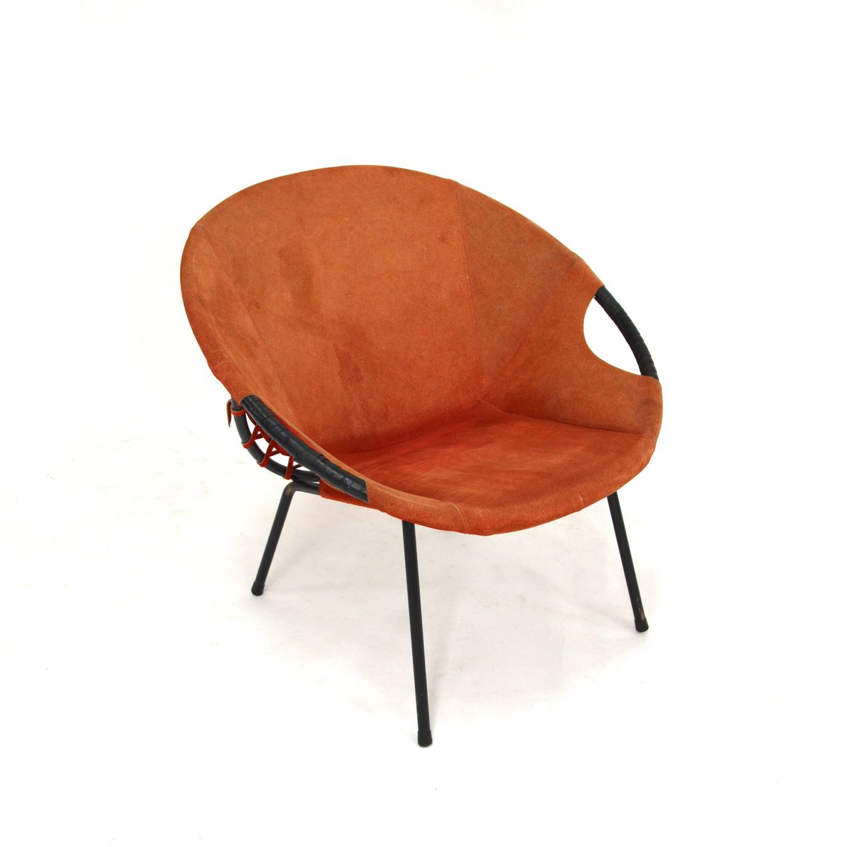 co chairs circle green club chair vintage from lusch and for sale at pamono