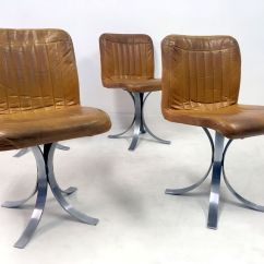 Chrome Dining Chairs Australia Finn Juhl Chair 108 French Leather And From Flox 1970s