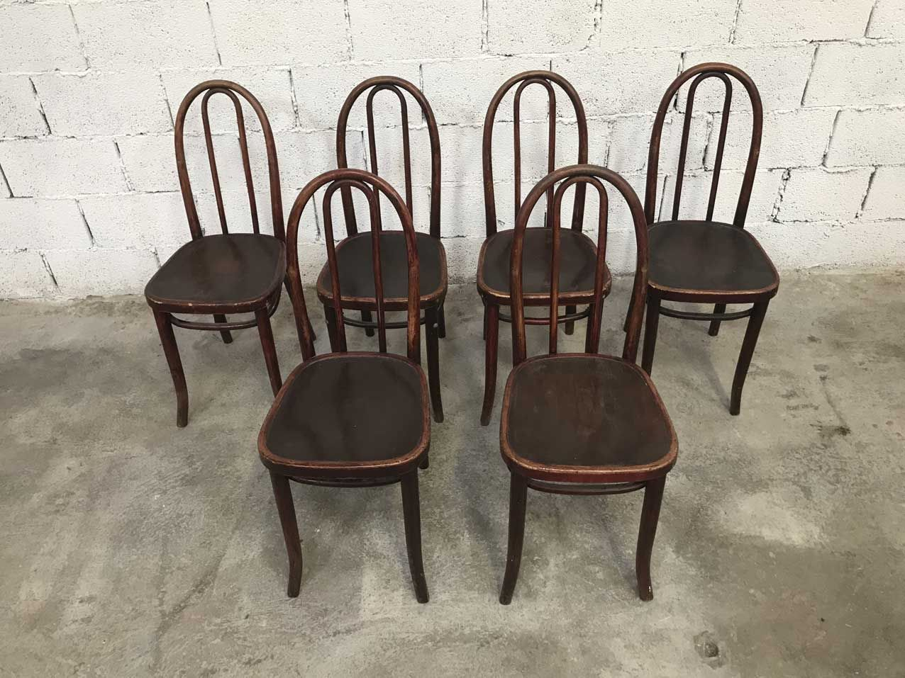 cafe chairs for sale how to recover dining room vintage bistro from thonet set of 6 at pamono