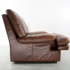 Modern Leather Lounge Chair Outdoor Cushions Sale Mid Century Brown For At