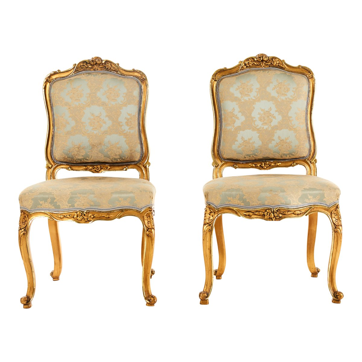 Chairs For Sale Antique Louis Xv Style Chairs Set Of 2 For Sale At Pamono