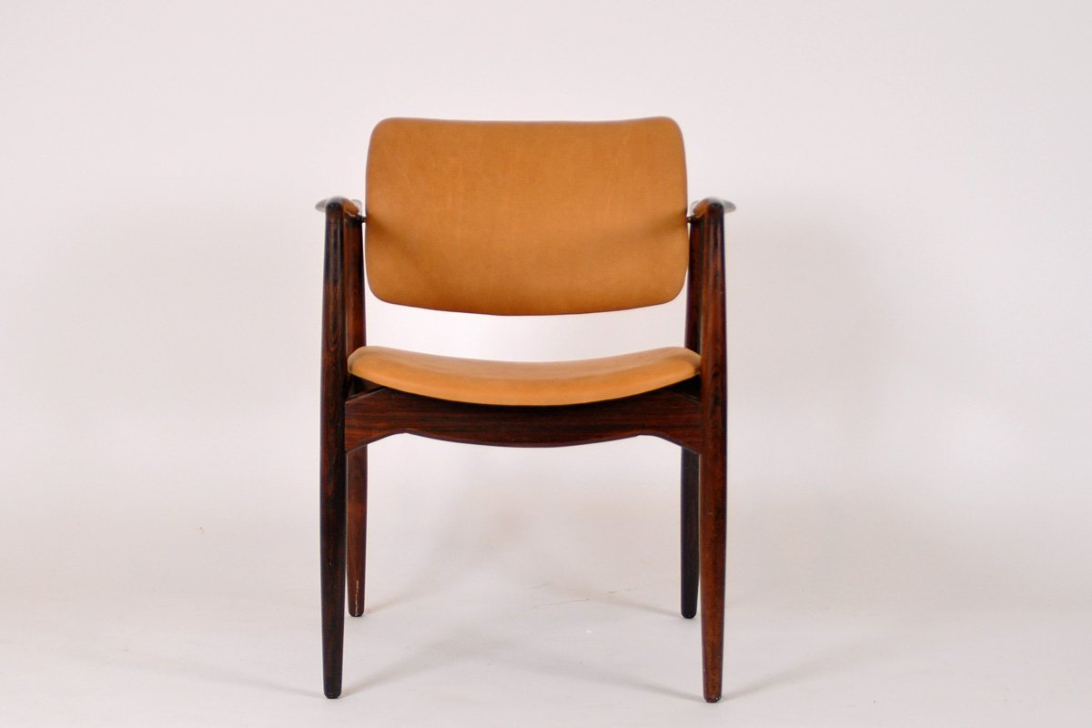 captains chair exercise 2 oversized recliner chairs mid century rosewood by erik buch for Ørum