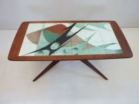 Mid Century Swedish Tiled Coffee Table for sale at Pamono