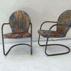 Clam Shell Chair Kid Sized Chairs Mid Century American Patio 1950s Set