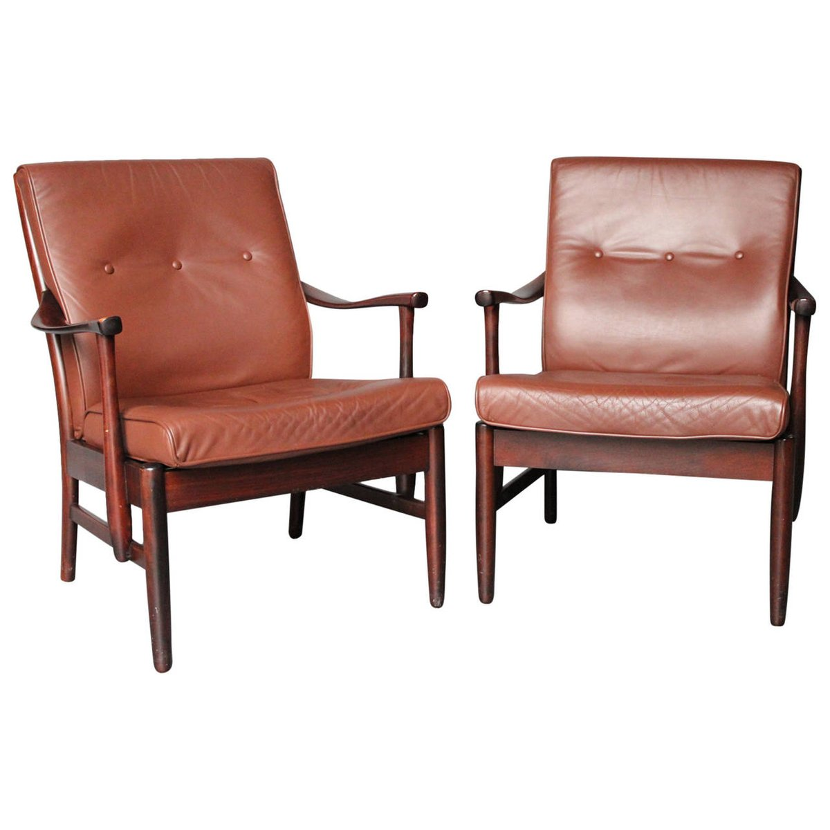 arm chairs amazon.ca patio chair covers polished mahogany armchairs 1960s set of 2 for sale at