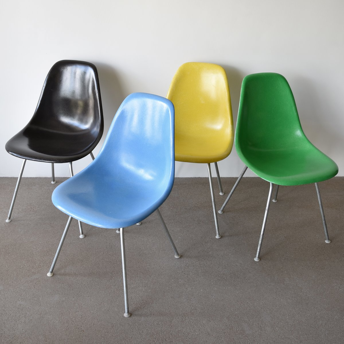 herman miller chairs vintage outdoor rocking made in usa dsx by charles and ray eames for
