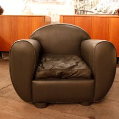 Grey Lounge Chair Linen Banquet Covers Leather For Sale At Pamono