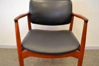 Teak Captain's Chair by Erik Buch for rum Mbler for sale ...