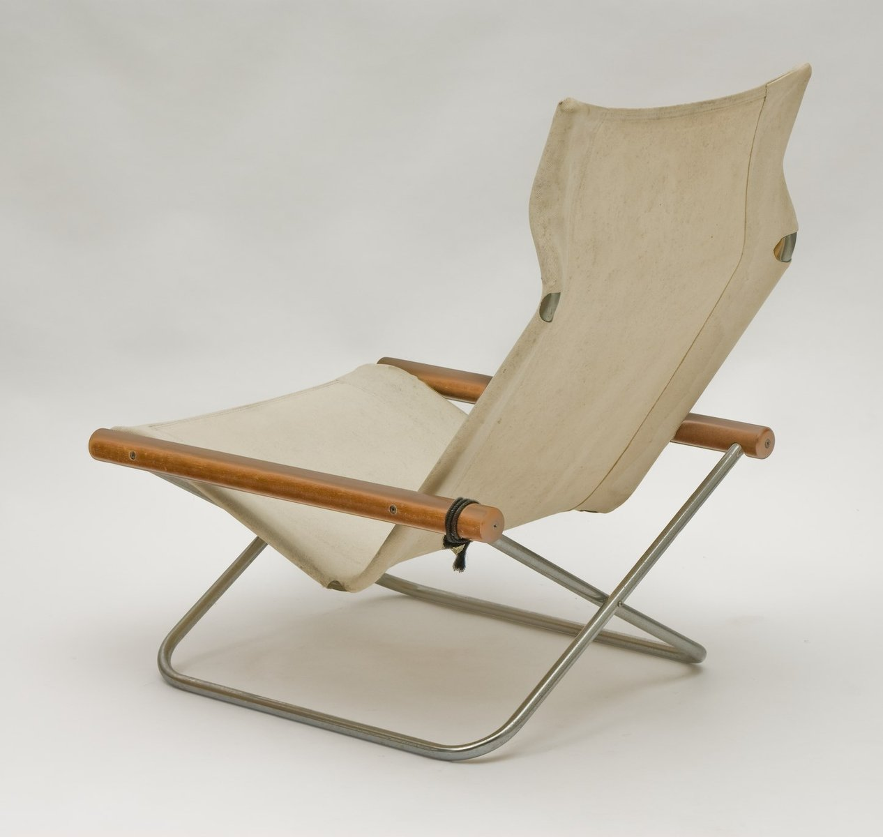 folding japanese chair heavy duty aluminum sports nychair by takeshi nii for sale at