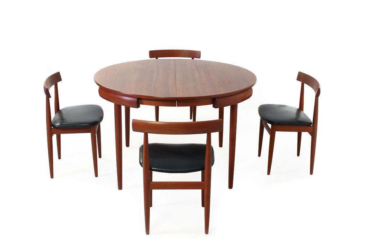 teak dining room chairs for sale folding chair lounger set by hans olsen frem rojle 1960s