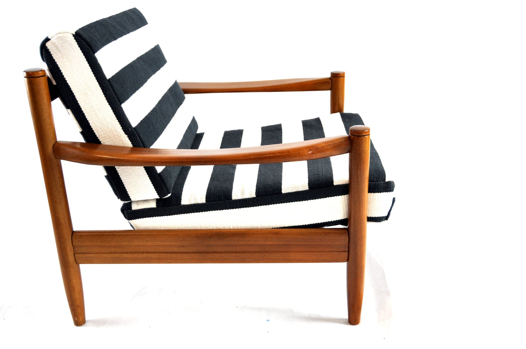 black white striped chair pottery barn kids slipcover and vintage lounge for sale at