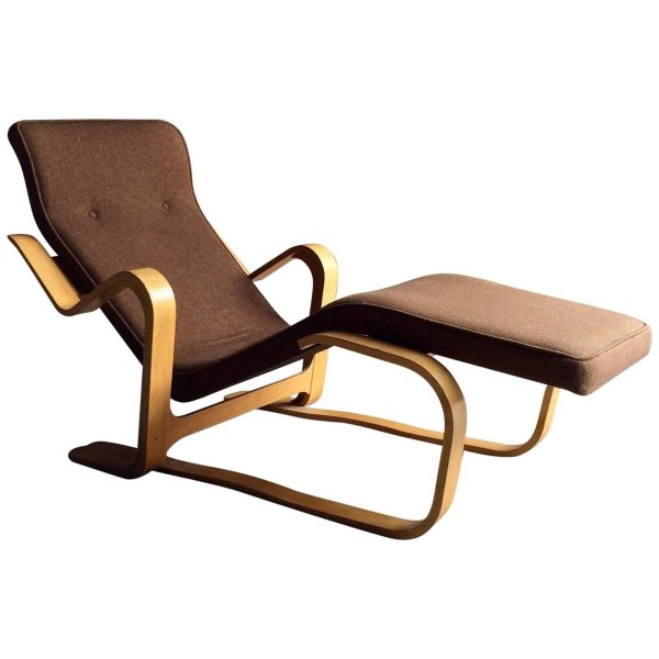MidCentury Long Chair by Marcel Breuer 1970s for sale at