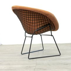 Knoll Bertoia Chair Fucking Machine Vintage Diamond By Harry For 1970s