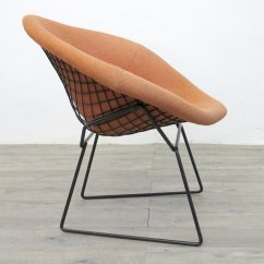 Knoll Bertoia Chair Optometry And Stand For Sale Vintage Diamond By Harry 1970s