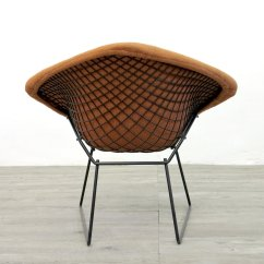 Knoll Bertoia Chair Bearings For Glider Rocking Chairs Vintage Diamond By Harry 1970s