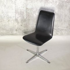 Swivel Chair Feet Folding White Chairs Vintage With Chromed Foot For Sale At Pamono