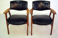 Mid-Century Office Chairs by Erik Kirkegaard for Glostrup ...