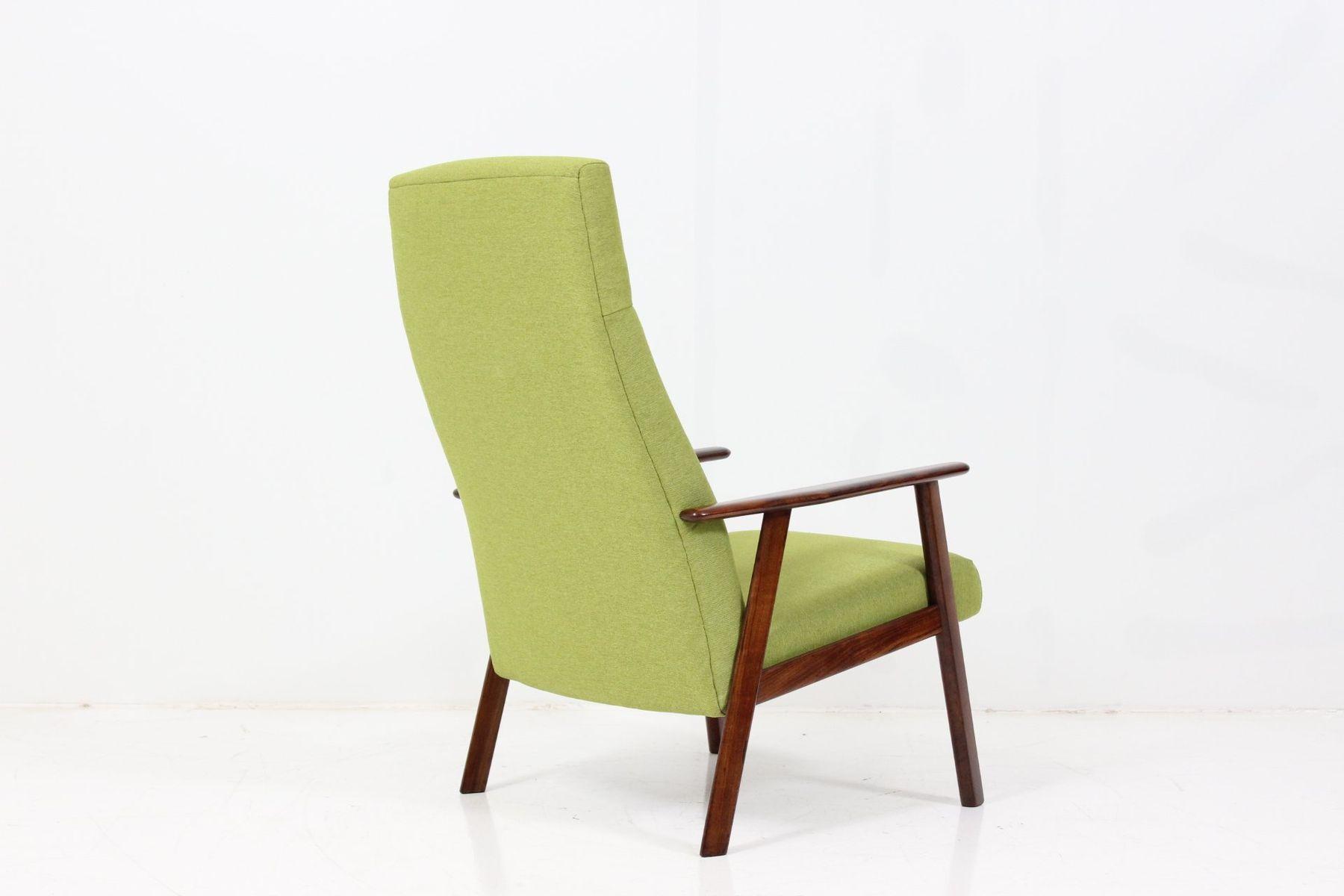 lime green chairs for sale zerega swivel chair danish teak high back armchair at pamono