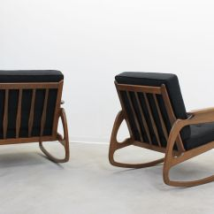 Adrian Pearsall Rocking Chair Deco Sunflower Accent By 1950s For Sale At Pamono