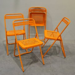Folding Chairs For Sale Unusual Swing Chair Garden Set Of 4 At Pamono