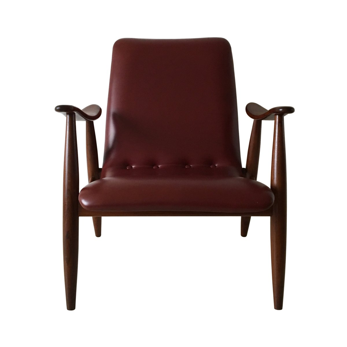 Vintage Lounge Chair by Louis van Teeffelen for Wb for