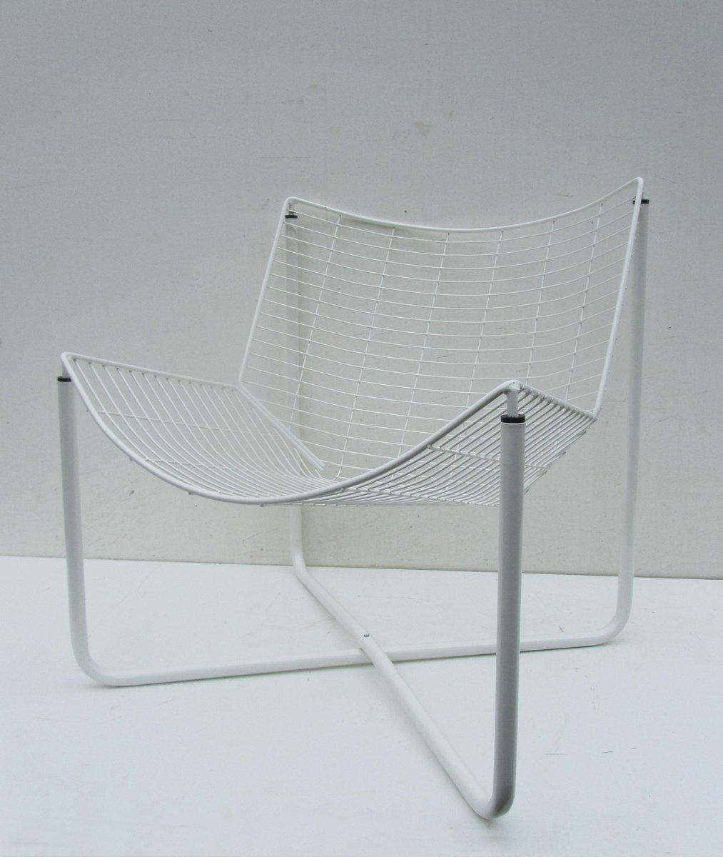 latest chaise jarpen blanche en mtal par niels gammelgaard