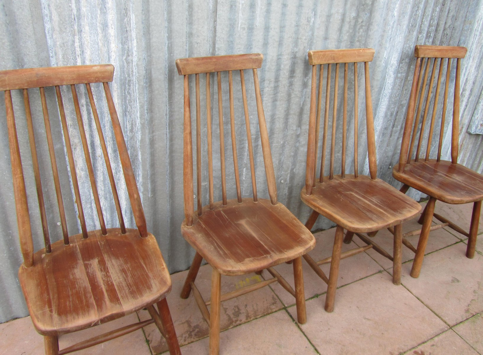 swedish high chair garden covers wilko mid century back spindle chairs set of 4 for