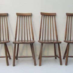Z Chair Mid Century Beach With Backpack Straps Target Mid-century Swedish High Back Spindle Chairs, Set Of 4 For Sale At Pamono