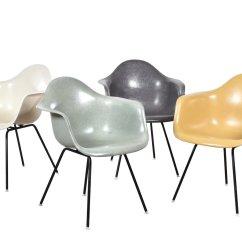 Eames Dining Chair Training Chairs Philippines Chaises De Salon Dax Par Charles & Ray Pour Herman Miller, Set 4 En Vente Sur Pamono