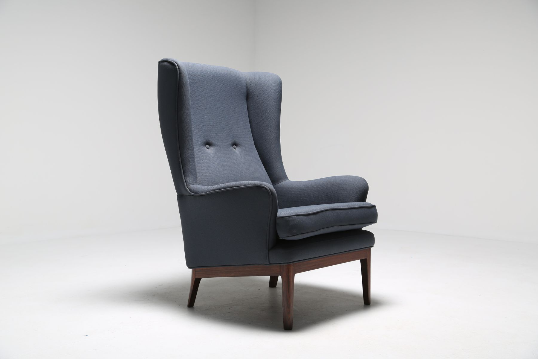modern wing chair lazy boy massage mid century from arne norell for sale at