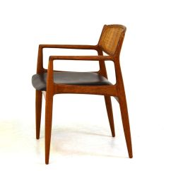 Mid Century Danish Chair Wing Back Recliner Slipcover Office For Sale At Pamono