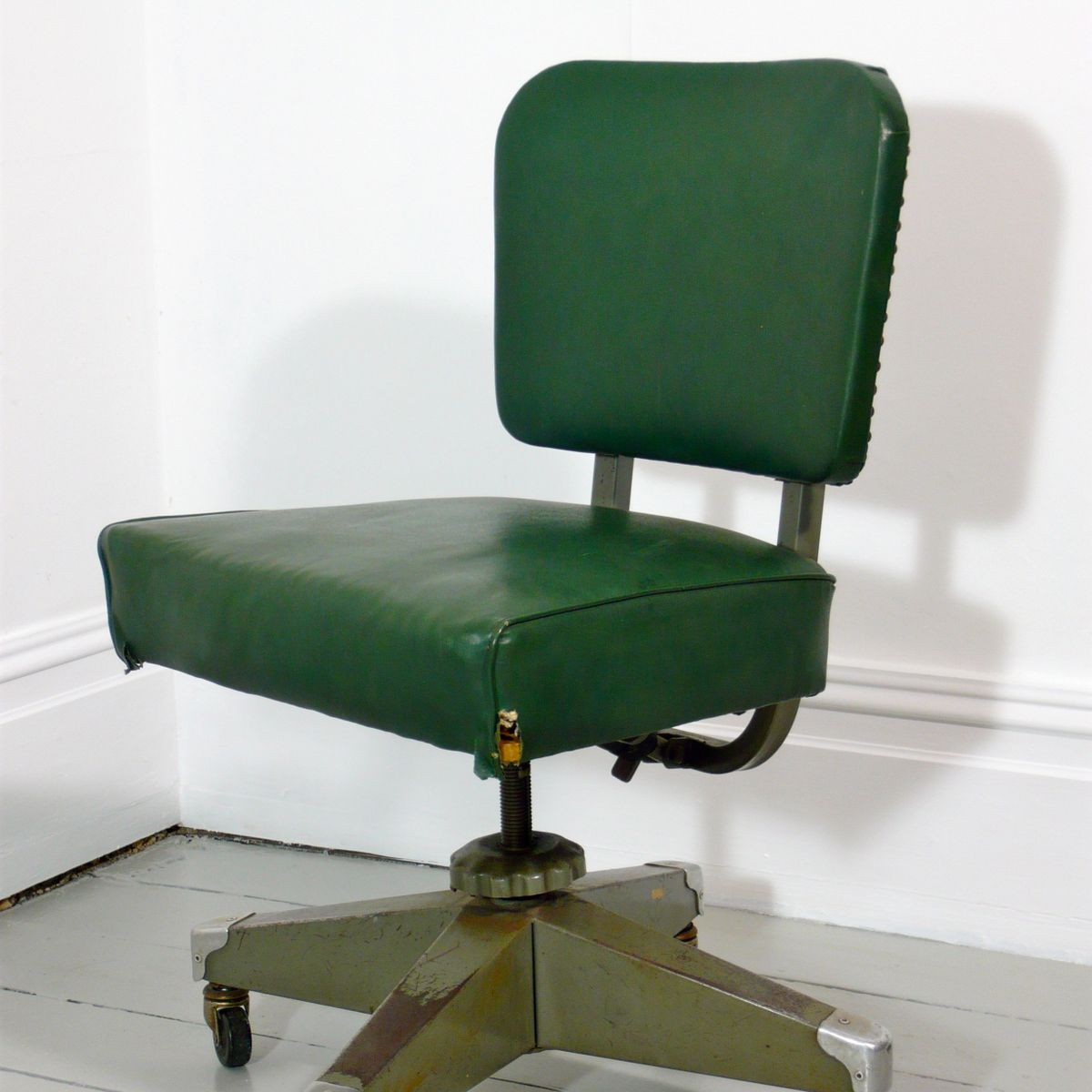 Vintage Swivel Chair Vintage Swivel Desk Chair From Remington Rand For Sale At