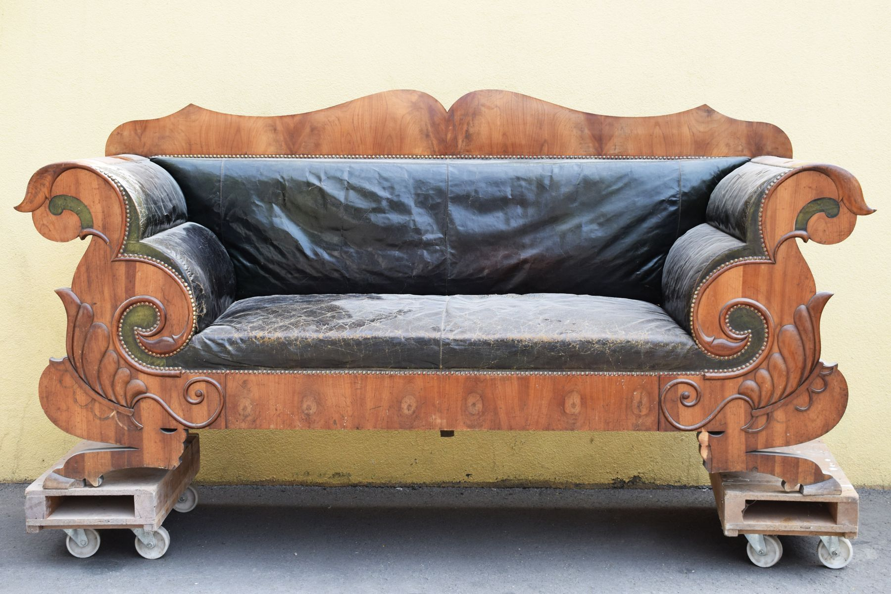 biedermeier sofa zu verkaufen martha stewart pillows antikes 1830er bei pamono kaufen